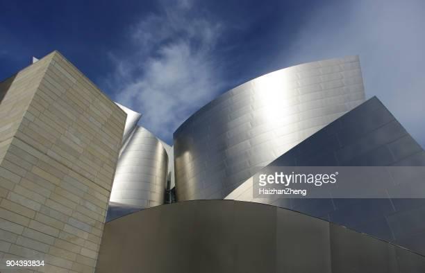 Walt Disney Concert Hall in Los Angeles, CA, USA