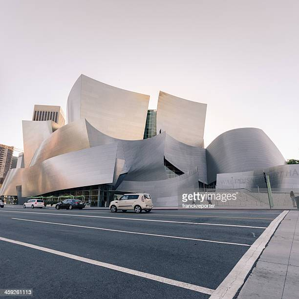 walt disney concert hall in los angeles - walt disney concert hall stock pictures, royalty-free photos & images
