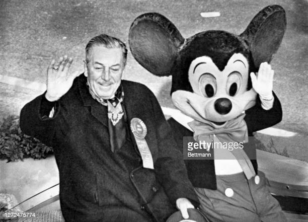 Walt Disney died at the age of 65. He rode proudly January 1, 1966 as Grand Marshal of the Rose Parade with a character he made a household name,...
