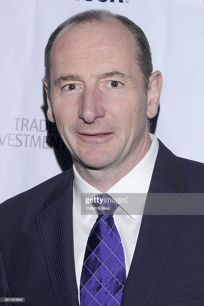 Walt Disney International Chairman Andy Bird attends 4th Annual BritWeek UKTI Business Innovation Awards at Four Seasons Hotel Los Angeles at Beverly Hills on April 24, 2013 in Beverly Hills, California.