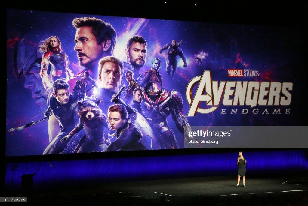 2019 CinemaCon - Walt Disney Studios Motion Pictures Special Presentation : News Photo