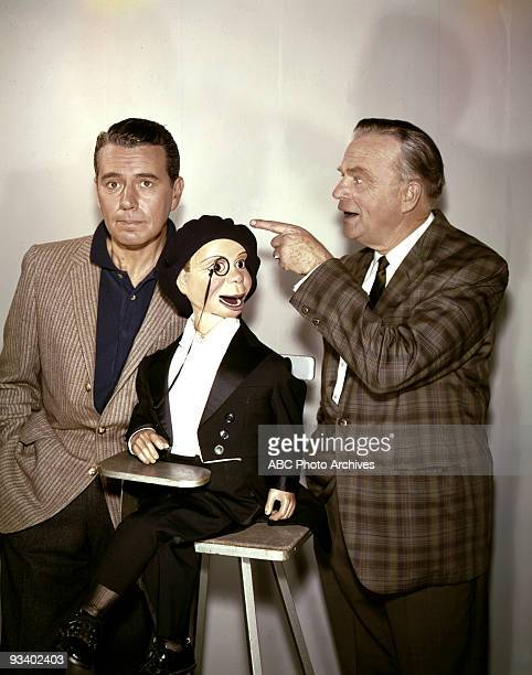 Walt Disney Television via Getty Images 19611962 A Visit to the Bergens John Forsythe Charlie McCarthy and Edgar Bergen 3/27/62