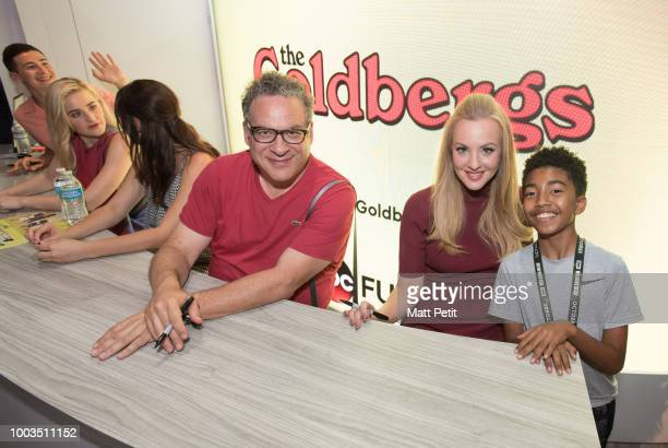 THE GOLDBERGS Walt Disney Television via Getty Images brings the star power to ComicCon International 2018 with talent appearances from some of the...