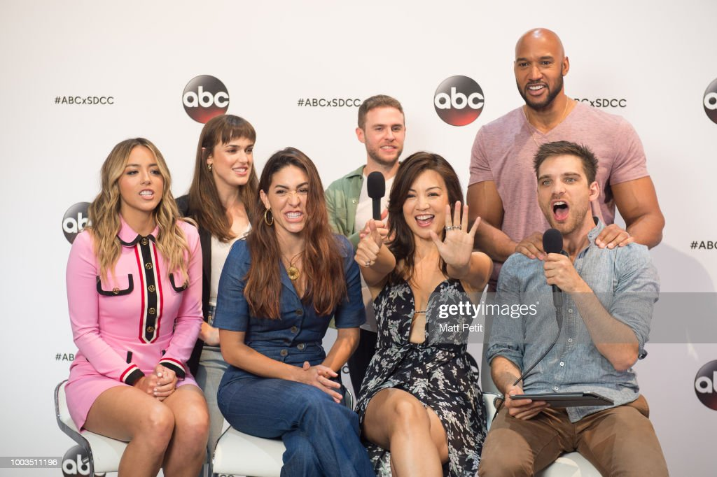 Abcs s agents of sheild abc brings the star power to comic con international 2018 m4hsunfo