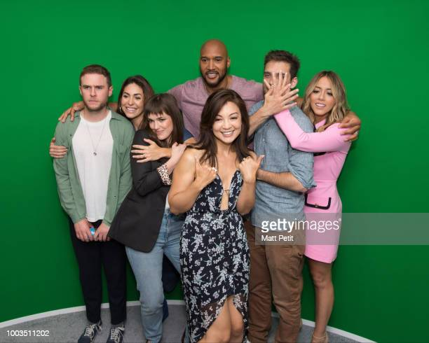 S AGENTS OF SHEILD Walt Disney Television via Getty Images brings the star power to ComicCon International 2018 with talent appearances from some of...