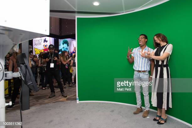 CAVALIER Walt Disney Television via Getty Images brings the star power to ComicCon International 2018 with talent appearances from some of the...