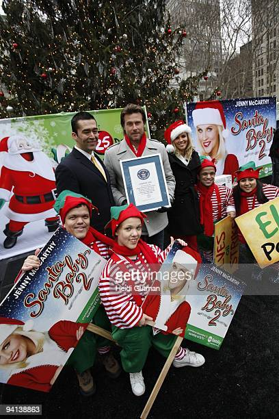 event in support of its new original holiday movie santa baby 2 christmas maybe abc familys - Abc Family Original Christmas Movies
