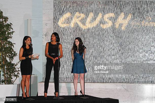 Family stars gathered at The London Hotel on November 6 to celebrate the launch of Crush by ABC Family a new clothing line available at Wet Seal...