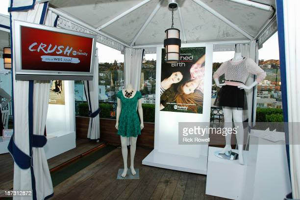 Family stars gathered at The London Hotel on November 6 to celebrate the launch of Crush by ABC Family a new clothing line available at Wet Seal CRUSH