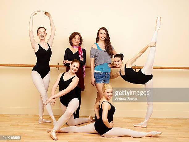 BUNHEADS Walt Disney Television via Getty Images Family's Bunheads stars Emma Dumont as Melanie Kaitlyn Jenkins as Boo Kelly Bishop as Fanny Sutton...