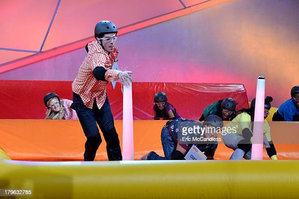 MAGEDDON Walt Disney Television via Getty Images Family's game show SpellMageddon has contestants take on hilarious distractions while spelling...