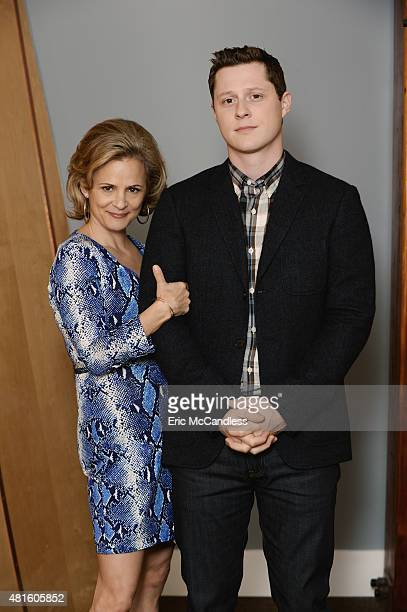 WORK Walt Disney Television via Getty Images Family's Kevin From Work stars Amy Sedaris as Julia and Noah Reid as Kevin