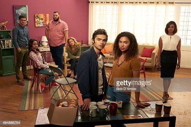 ROAD Walt Disney Television via Getty Images Family's Recovery Road stars David Witts as Craig Kyla Pratt as Trish Daniel Franzese as Vern Alexis...