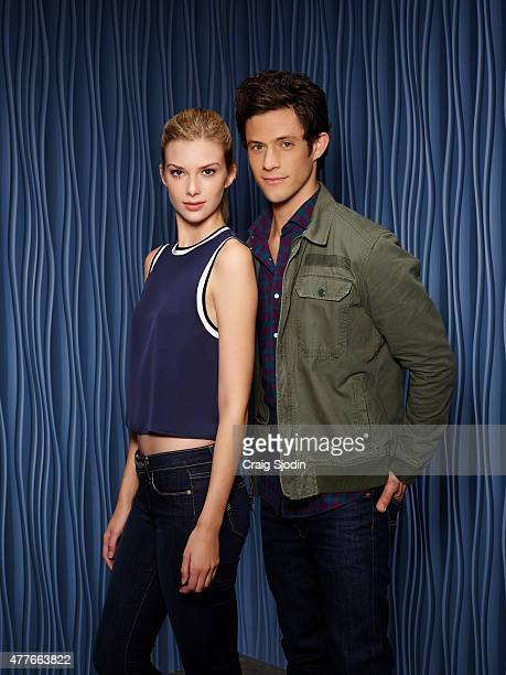 Family's 'Stitchers' stars Emma Ishta as Kirsten and Kyle Harris as Cameron