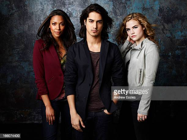Family's 'Twisted' stars Kylie Bunbury as Lacey Avan Jogia as Danny and Maddie Hasson as Jo