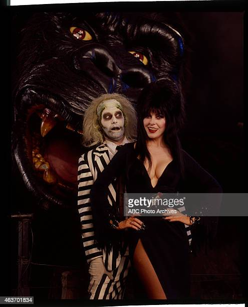 Walt Disney Television via Getty Images IN CONCERT Halloween Show Gallery Shoot Date September 28 1992 ELVIRA