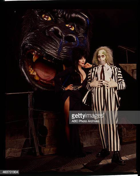 Walt Disney Television via Getty Images IN CONCERT Halloween Show Gallery Shoot Date September 28 1992 BEETLEJUICE