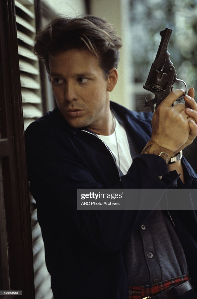 TV - 'City in Fear' - 3/30/80, A burned-out newspaper writer is goated by his ruthless boss into tracking the moves of Tony Plate (Mickey Rourke), a vicious serial killer through the big city.,