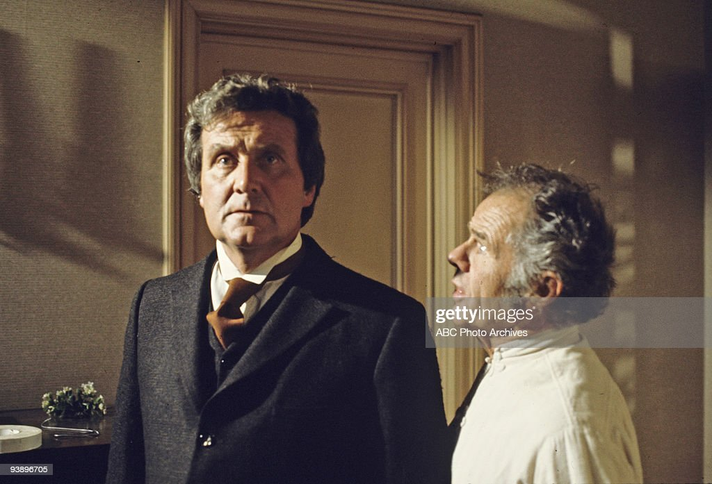 TV - 'Dead of Night: No Such Thing as a Vampire' - 3/29/77, Patrick Macnee (Dr. Gheria) and Elisha Cook Jr. (Karel) starred in this tale about vampires.,