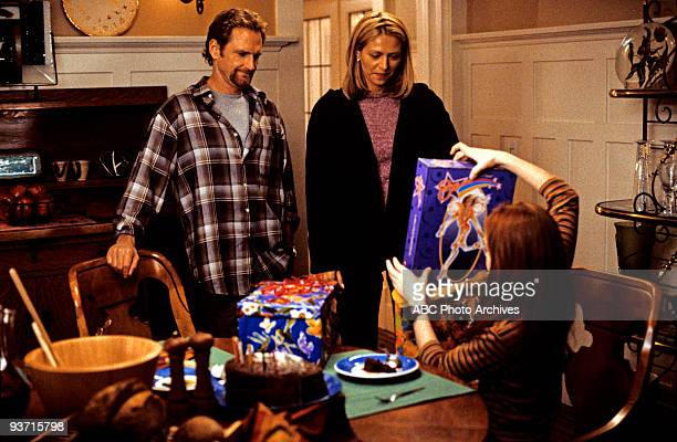Walt Disney Television via Getty Images MOVIE FOR TV LifeSize 3/5/00 Widower Ben Stuart's daughter Casey accidentally brings her Eve doll to life as...