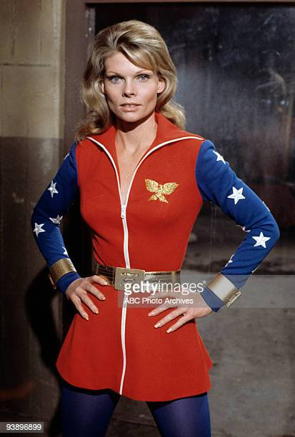 Walt Disney Television via Getty Images MOVIES Wonder Woman 3/12/74 Cathy Lee Crosby starred in the title role as a superhero who used her powers to...
