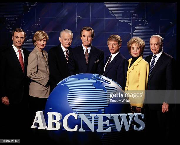 Sam Donaldson Diane Sawyer David Brinkley Peter Jennings Ted Koppel Barbara Walters and Hugh Downs