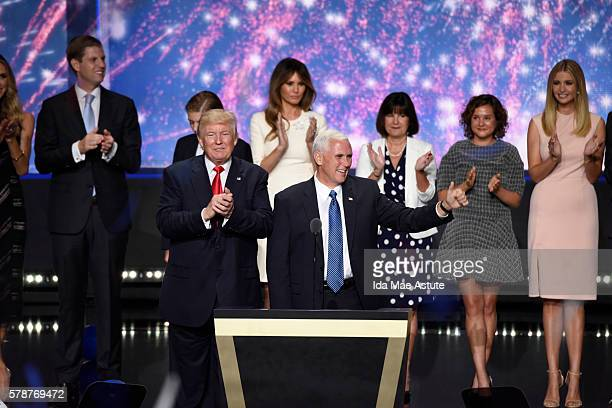 Walt Disney Television via Getty Images NEWS - 7/21/16 - Coverage of the 2016 Republican National Convention from the Quicken Loans Arena in...