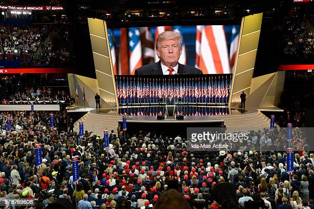 Walt Disney Television via Getty Images NEWS 7/21/16 Coverage of the 2016 Republican National Convention from the Quicken Loans Arena in Cleveland...