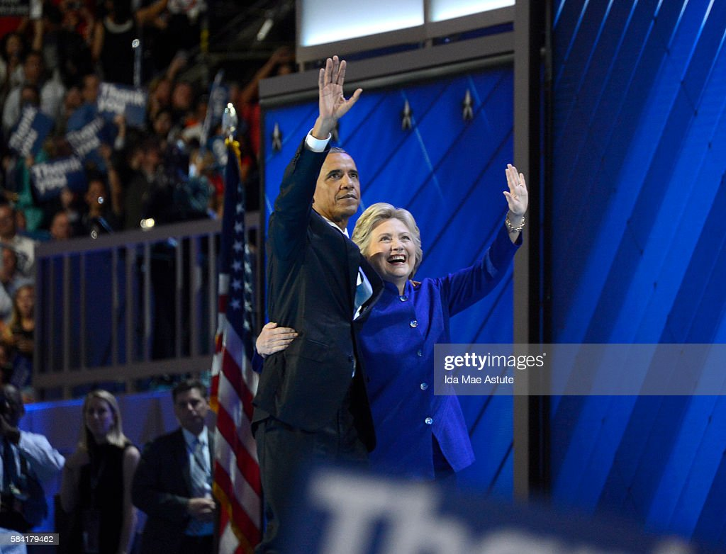 ABC NEWS - 7/27/16 - Coverage of the 2016 Democratic National Convention from the Wells Fargo Center in Philadelphia, PA which airs on all ABC News programs and platforms. CLINTON