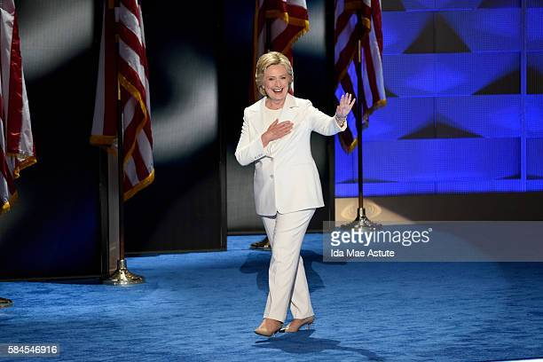 Walt Disney Television via Getty Images NEWS 7/28/16 Coverage of the 2016 Democratic National Convention from the Wells Fargo Center in Philadelphia...