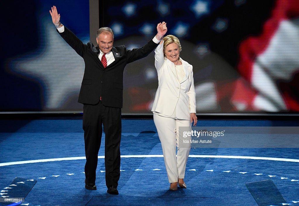 ABC NEWS - 7/28/16 - Coverage of the 2016 Democratic National Convention from the Wells Fargo Center in Philadelphia, PA which airs on all ABC News programs and platforms. CLINTON