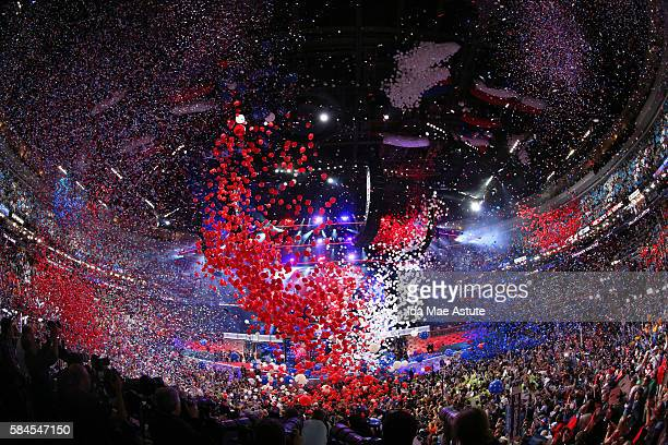 Walt Disney Television via Getty Images NEWS - 7/28/16 - Coverage of the 2016 Democratic National Convention from the Wells Fargo Center in...