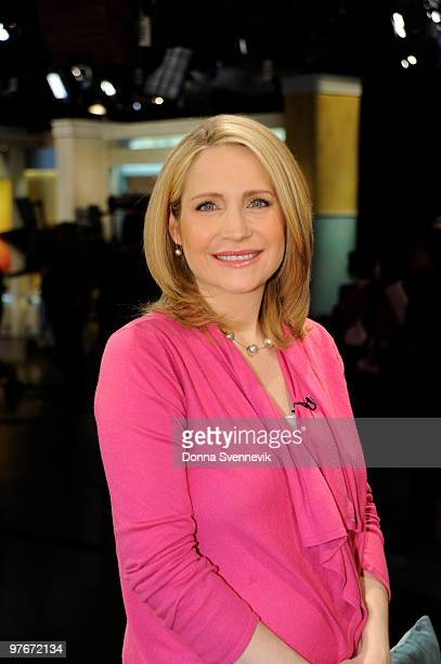 AMERICA Walt Disney Television via Getty Images News' Andrea Canning on the set of GOOD MORNING AMERICA 31210 on the Walt Disney Television via Getty...