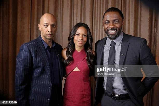News' Byron Pitts interviews the stars of 'Mandela' Idris Elba and Naomie Harris for NIGHTLINE airing THURSDAY NOV 28 on the ABC Television Network...
