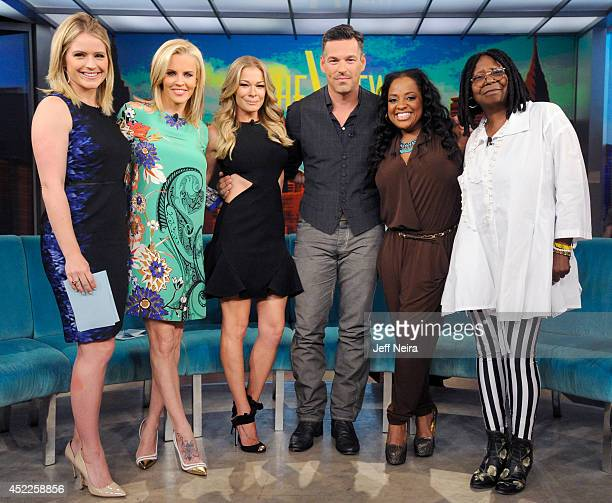 THE VIEW Walt Disney Television via Getty Images News Correspondent Sara Haines guest cohosts and LeAnn Rimes and Eddie Cibrian are guests today...