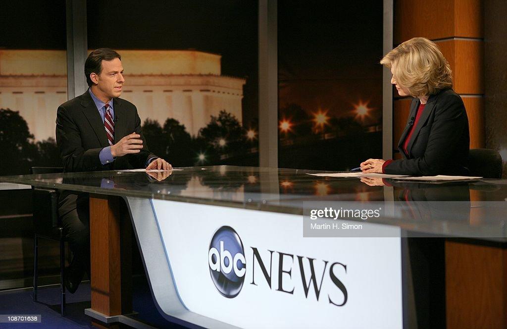 """ABC's """"World News With Diane Sawyer"""" - 2011 : News Photo"""