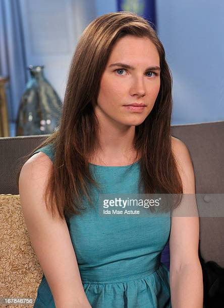 Walt Disney Television via Getty Images NEWS - EXCLUSIVE - Amanda Knox - the college junior who became the center of a dramatic murder trial in...
