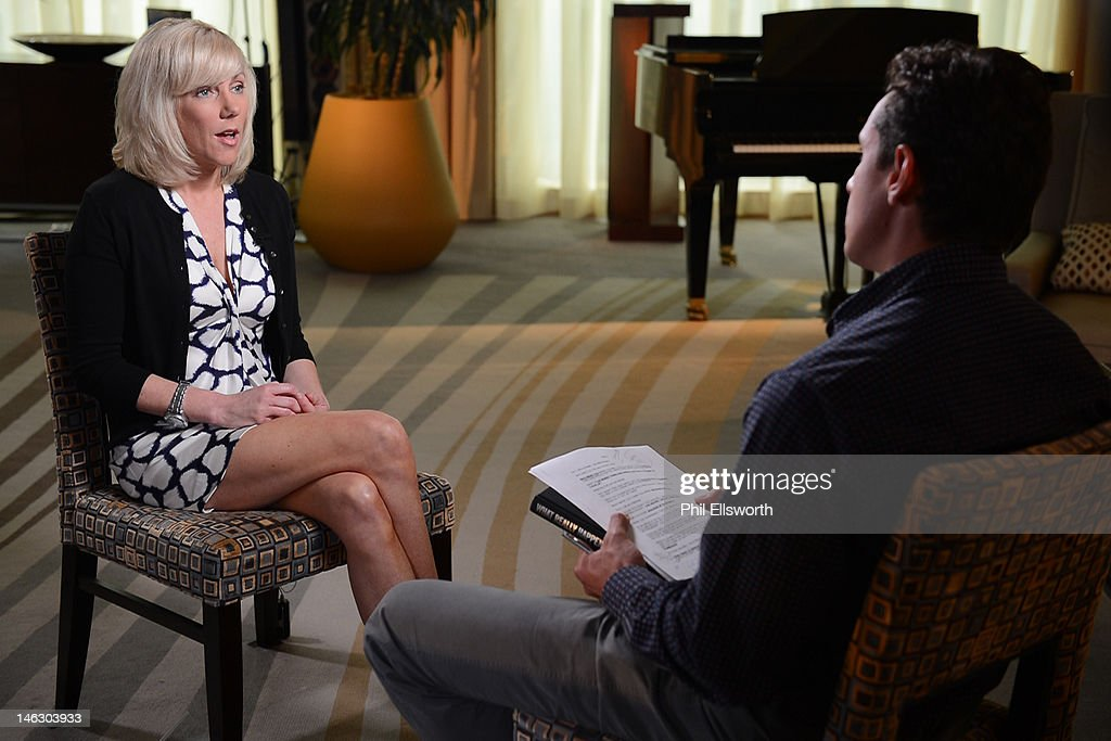 EXCLUSIVE - For the first time since former Presidential candidate John Edwards' trial, Rielle Hunter, his former mistress and the mother of his four-year-old child, breaks her silence and speaks exclusively to Chris Cuomo in an interview to air on 20/20, FRIDAY, JUNE 22 (10-11pm, ET) on the ABC Television Network. Portions of the interview will air across all ABC News programs and platforms. (Photo by Phil Ellsworth/ABC via Getty Images) RIELLE
