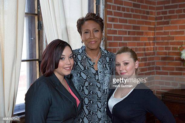 20/20 Walt Disney Television via Getty Images NEWS EXCLUSIVE Walt Disney Television via Getty Images News' Robin Roberts conducts the first broadcast...