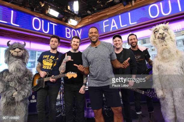 ABC NEWS Fall Out Boy performs live on 'Good Morning America' Friday January 19 airing on the ABC Television Network STRAHAN