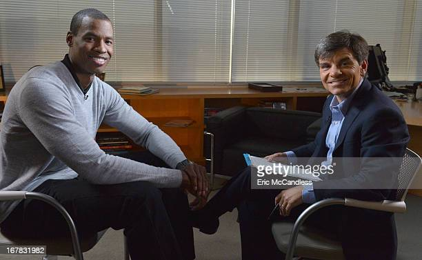 Walt Disney Television via Getty Images NewsÕ George Stephanopoulos sat down exclusively with NBA player Jason Collins, the first openly gay active...