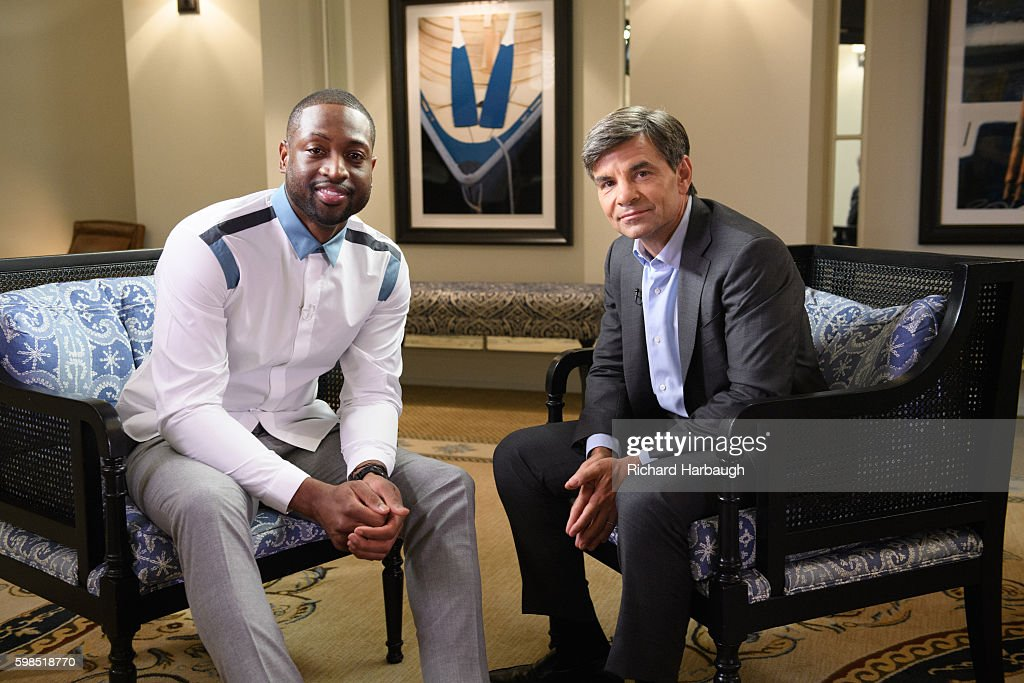 ABC NEWS - George Stephanopoulos interviews Dwyane Wade of the Chicago Bulls about the murder of his cousin Nykea Aldridge. The interview will air first on 'World News Tonight,' Thursday, September 1, 2016 (6:30pm ET), and on 'Good Morning America,' September 2, 2016 (7-9am ET) on the ABC Television Network. STEPHANOPOULOS