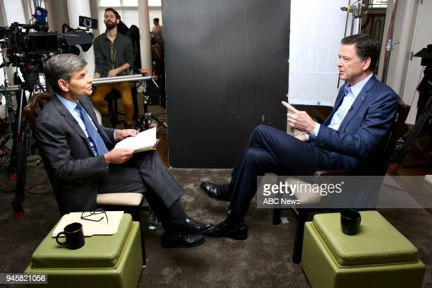 Walt Disney Television via Getty Images NEWS George Stephanopoulos sits down with former FBI director James Comey for an exclusive interview that...