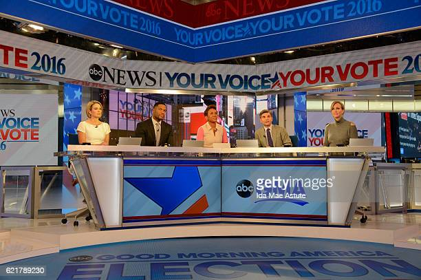 Walt Disney Television via Getty Images NEWS - GOOD MORNING AMERICA broadcasts special coverage of the 2016 Presidential Election from Walt Disney...
