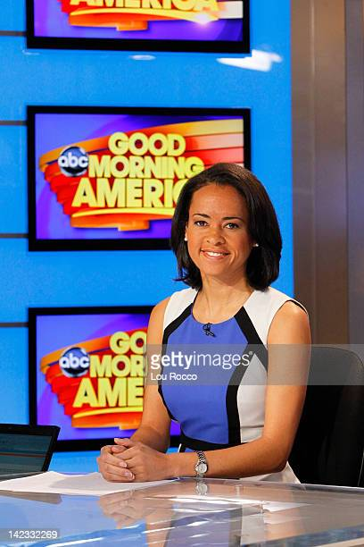 AMERICA Walt Disney Television via Getty Images News' Linsey Davis appears on Good Morning America 4/2/12 airing on the Walt Disney Television via...