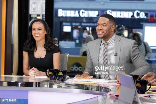 AMERICA Walt Disney Television via Getty Images News' Linsey Davis on Good Morning America Tuesday February 13 airing on the Walt Disney Television...