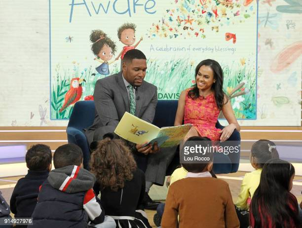 News' Linsey Davis shares her new children's book 'The World is Awake' on 'Good Morning America' Tuesday February 6 airing on the ABC Television...