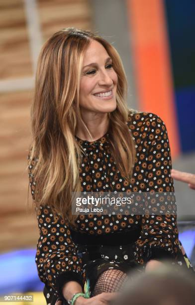 ABC NEWS Sarah Jessica Parker is a guest on 'Good Morning America' Friday January 19 airing on the ABC Television Network PARKER