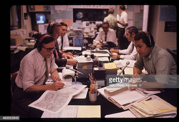 Walt Disney Television via Getty Images NEWS SPACE FLIGHTS Apollo 11 BehindtheScenes Launch Coverage Airdate July 20 1969 NEWSROOM
