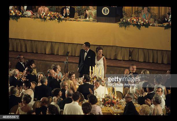 FLIGHTS Apollo 11 State Dinner Airdate August 13 1969 RONALD AND NANCY REAGAN